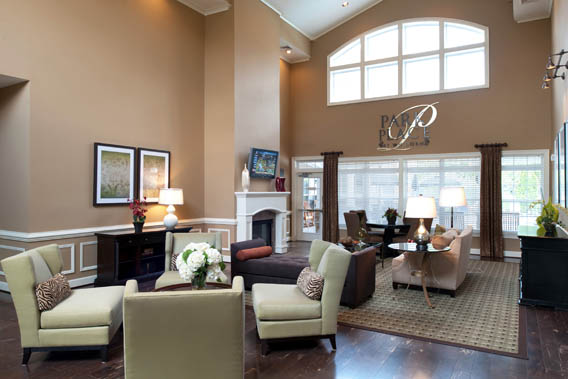 Resident lounge and clubhouse at Park Place at Van Dorn