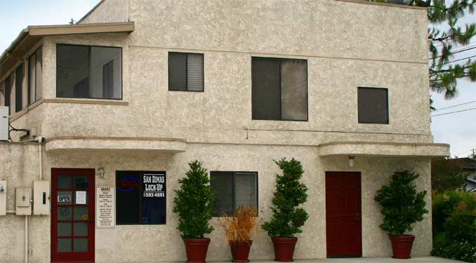 Office of self storage in San Dimas, CA.