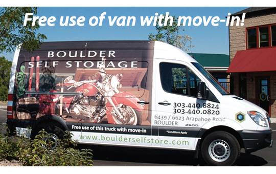Boulder Self Storage Moving Truck