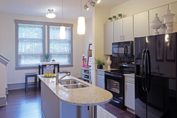 Chef inspired kitchens at our apartments for rent in Chapel Hill, NC 27514