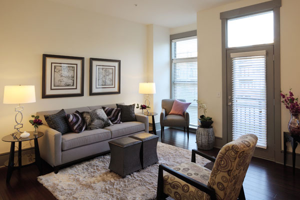 Apartments in Chapel Hill, NC with generous inviting living areas