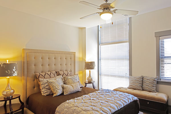 Chapel Hill North Apartments feature light filled master suites