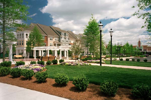 Our Huntersville two bedroom apartments feature park like landscaped grounds