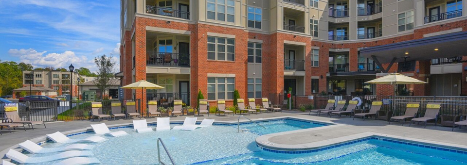 Palladian apartments pool durham
