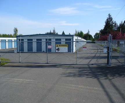 Gated ferndale self storage