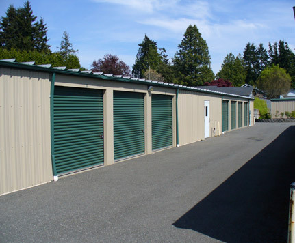 Blaine self storage units