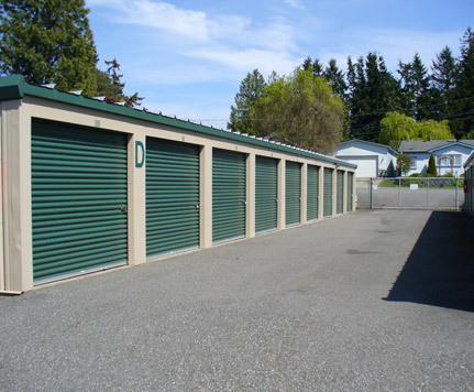 Row units blaine self storage