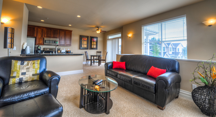 Beautiful layouts at Puyallup apartments
