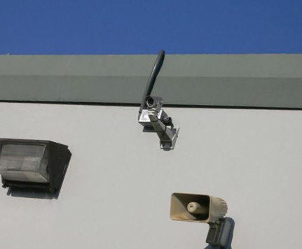 Kent self storage security camera