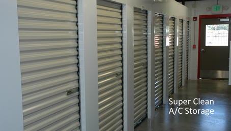 5 air conditioned storage units