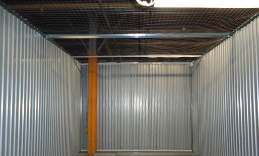 Storage bunker annex large unit interior
