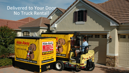 Delivered to your door no truck rental