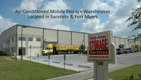Mobile 4 air conditioned warehouse