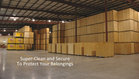 Mobile 5 clean and secure warehouse