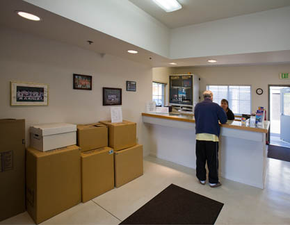 Office Storage Court of Mercer Island Self Storage