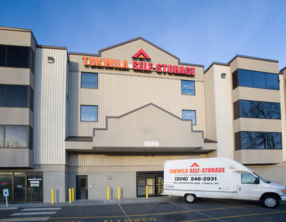 Facility moving truck Tukwila Self Storage