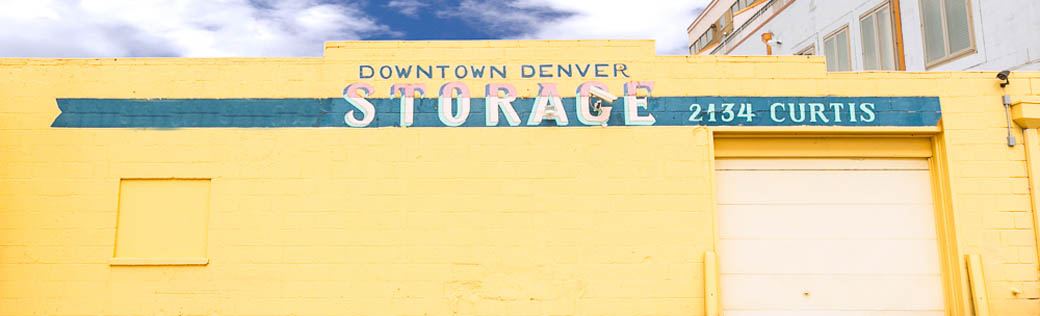 Downtown Denver self storage
