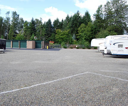 Rv parking Emerald Heated Self Storage