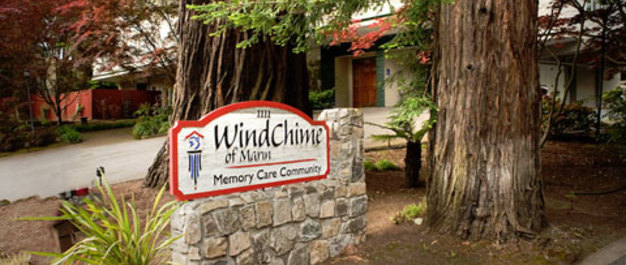 Kentfield ca exterior WindChime of Marin Memory Care