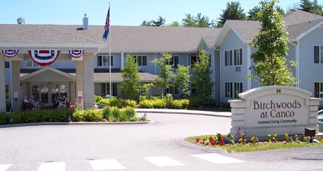 Portland maine Birchwoods at Canco Assisted Living