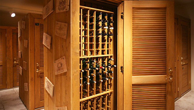 Wine cellar Cypress Self Storage 1