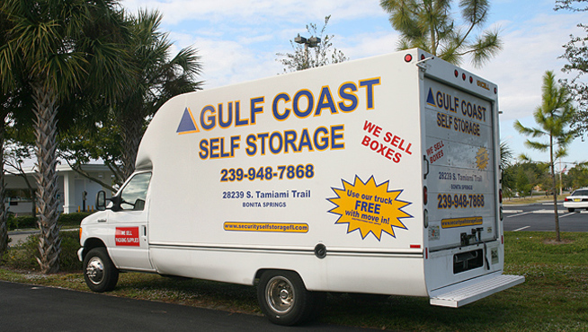 Gc truck Gulf Coast Self Storage