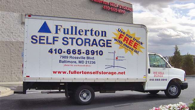 Truck Fullerton Self Storage