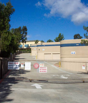 Gate access Mira Mesa Self Storage