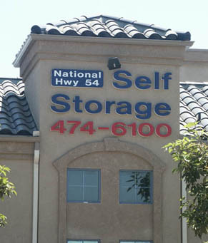 National city National/54 Self Storage