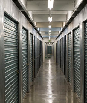 Climate controlled ca North County Self Storage