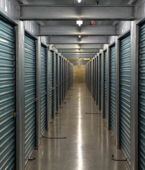 Indoor units ca Olivenhain Self Storage