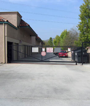 Gate access ca Olivenhain Self Storage