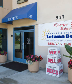 Facility solana beach Smart Self Storage