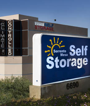 Climate controlled Sorrento Mesa Self Storage