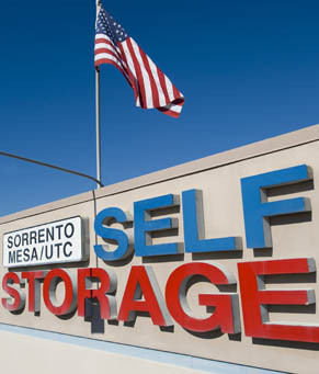 Signage Sorrento Mesa Self Storage