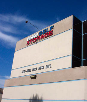 Facility Sorrento Mesa Self Storage