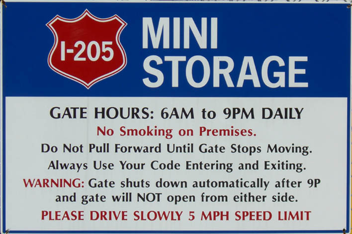 I 205 washington I-205 Mini Self Storage