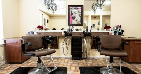 6 beauty salon