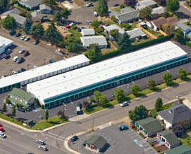 Aerial photo A Storage Place Newberg, OR