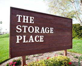 Sign The Storage Place