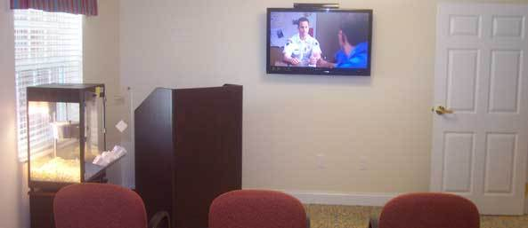 Tv room Merryvale Assisted Living