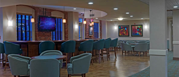 Nh assisted bentely entertainment area Bentley Commons at Keene - Senior Living