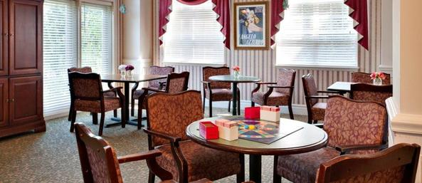 Activity room Bear Creek Assisted Living
