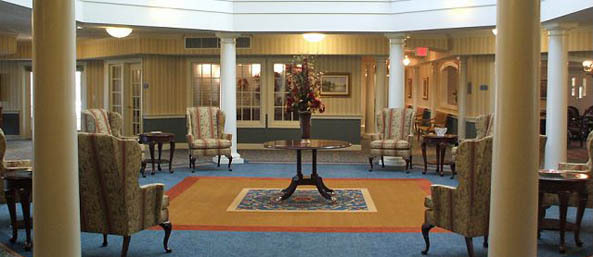 Va lobby Bentley Commons at Lynchburg - Independent Living