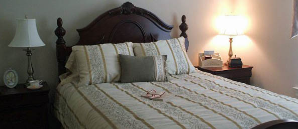 Va unit bedroom Bentley Commons at Lynchburg - Independent Living