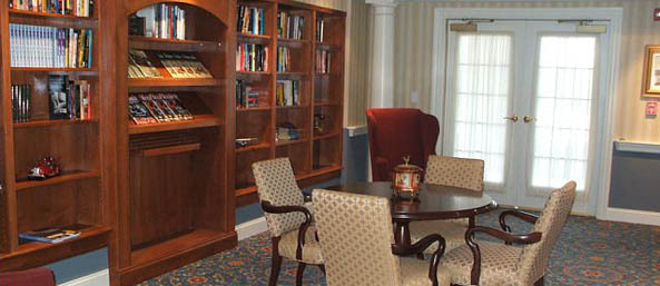 Va library Bentley Commons at Lynchburg - Independent Living
