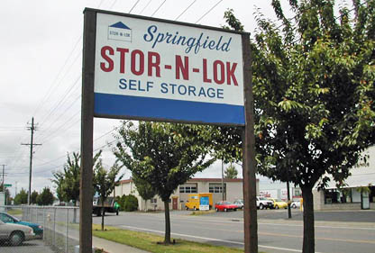 Springfield oregon storage units Stor-N-Lok
