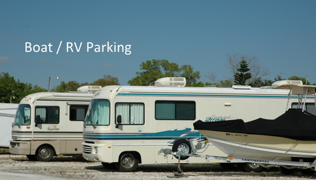 Boat and rv parking lots
