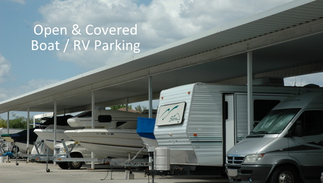 Boat and rv lot parking