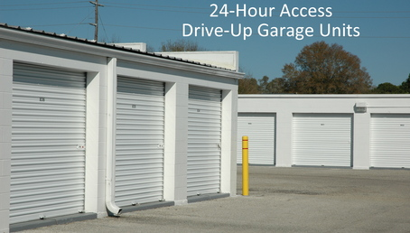 Extra tall garage door units
